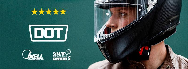 Motorcycle Helmet Ratings